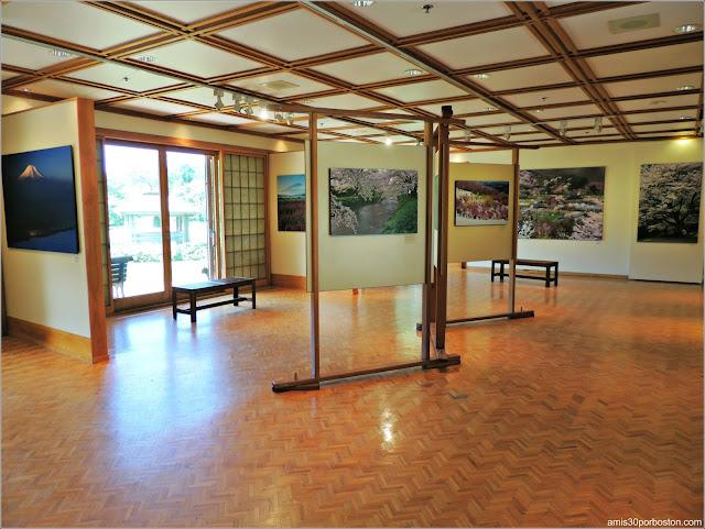 Jardín Japonés del Jardín Botánico de Montreal: The Toyota Exhibition Hall