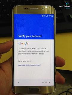 Cara Remove Verifikasi Acount Samsung Galaxy S6