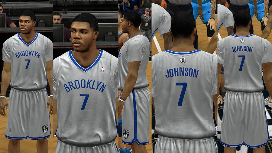 low priced 43da5 6d31b NBA 2K14 Brooklyn Nets Jersey Pack V2 - NBA2K.ORG