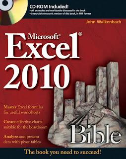 Excel 2010 Bible by John Walkenbach PDF Book Download