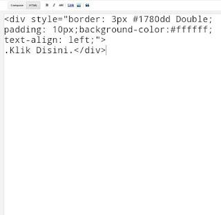 Cara Mudah Membuat Kotak Script Pada Blog.