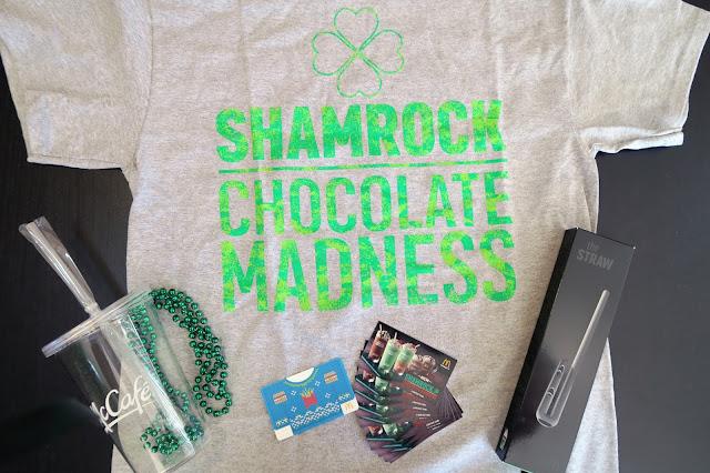 shamrock shake prize pack