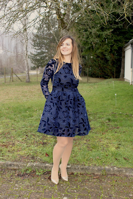 robe maje, tenue de baptême, les petites bulles de ma vie