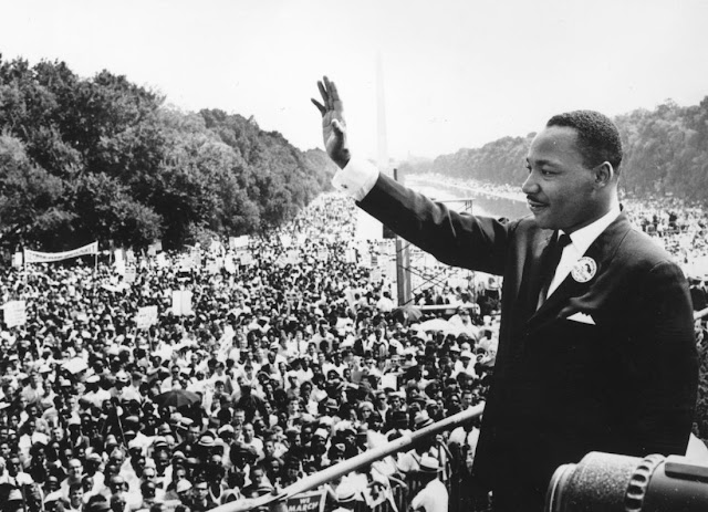 "Happy Martin Luther King Jr. Day - Hear and Read His ""I Have a Dream Speech"" in it's Entirety."