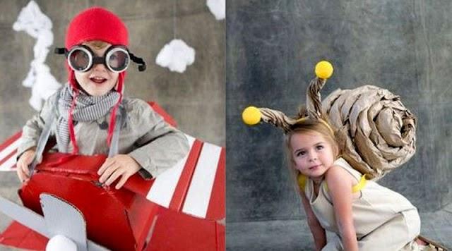 12 Πρωτότυπες παιδικές αποκριάτικες στολές που μπορείτε να φτιάξετε μόνοι σας