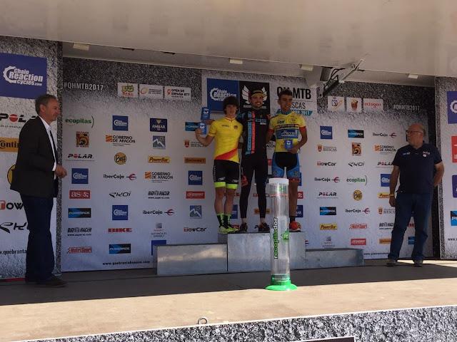 podium sub 23 quebrantahuesos
