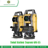 JUAL ALAT SURVEY TOTAL STATION TOPCON GM-55 BALIKPAPAN