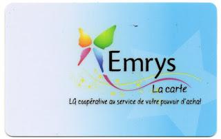 la carte EMRYS