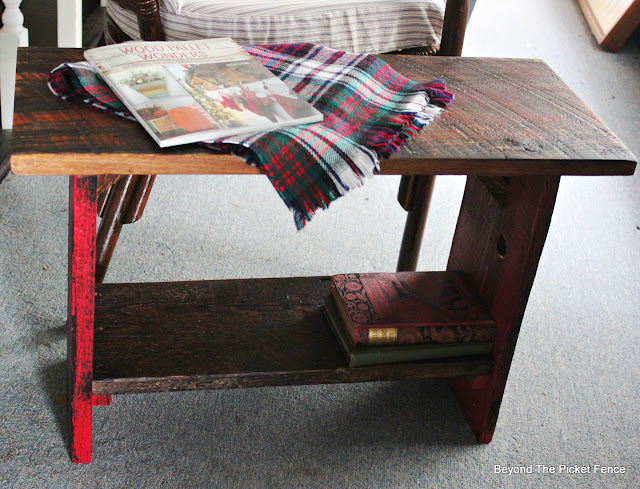 Make a Side Table from Reclaimed Wood