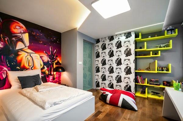 Dormitorios modernos para adolescentes   colores en casa