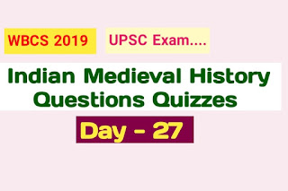 Indian Medieval History Questions