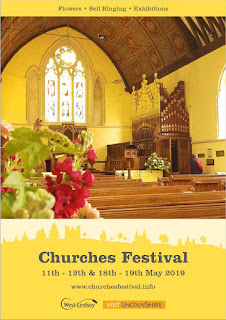 Cover of West Lindsey Churches 2019 Festival brochure