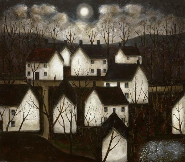 "John Caple: ""Of gardens long run wild"" en la John Martin Gallery Londres"