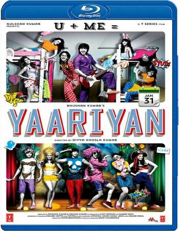 Poster Of Yaariyan 2014 Hindi 720p BRRip Free Download Watch Online