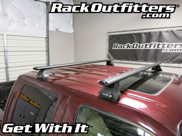 Ford F 250 Crew Cab Rhino Rack 2500 Vortex Aero Black Base