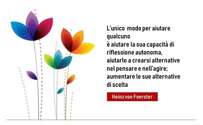 von Foester: aumentare possibilità di scelta