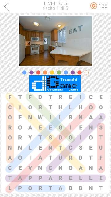 10x10 Crucipuzzle soluzione pacchetto 5 livelli (1-5)