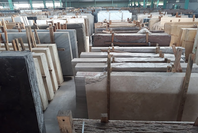 Kho đá marble