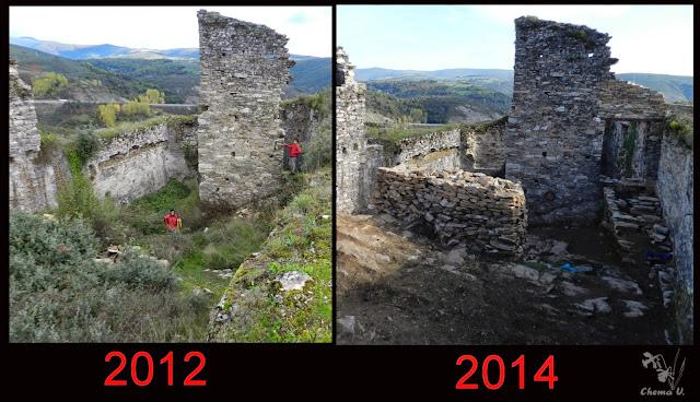 Resultado de imagen de castillo de Sarracin Raigañu