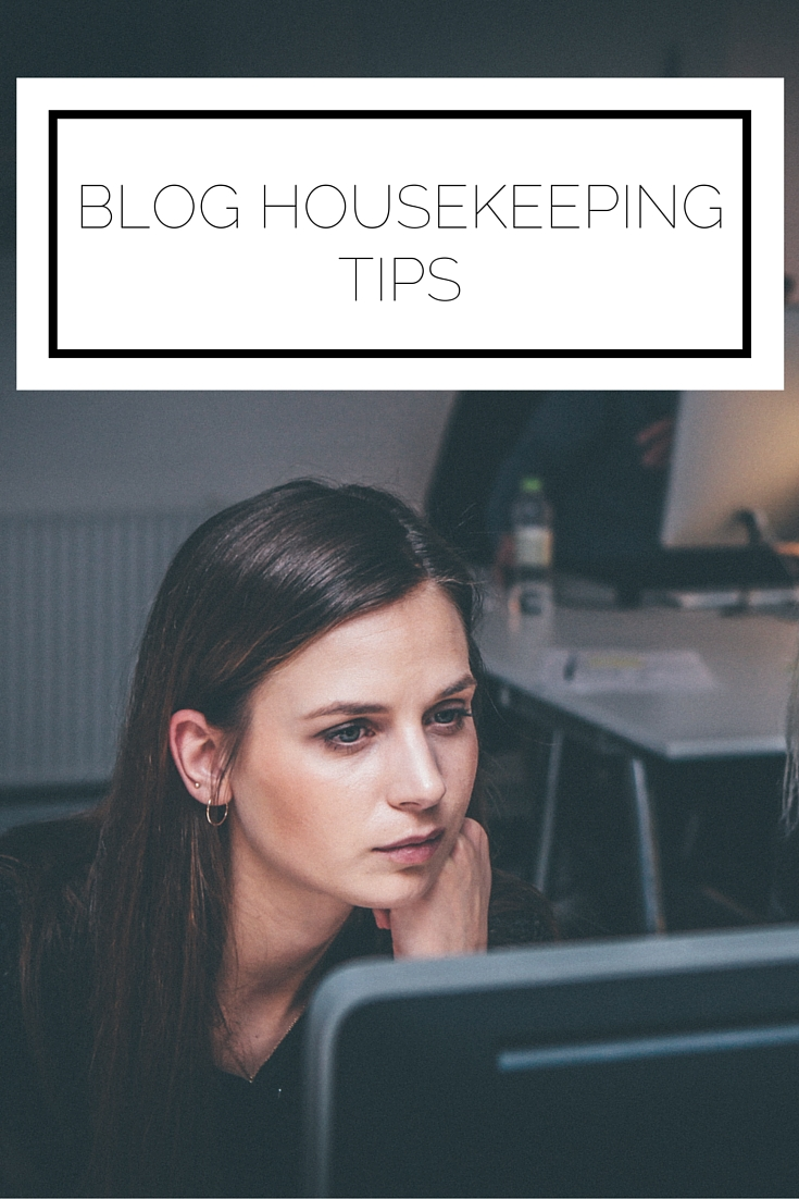 Click to read now or pin to save for later! Blog housekeeping is just as important as creating new content. Here's what you should focus on