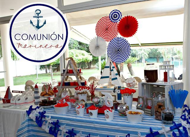 Celebra con ana compartiendo experiencias creativas for Mesa dulce marinera