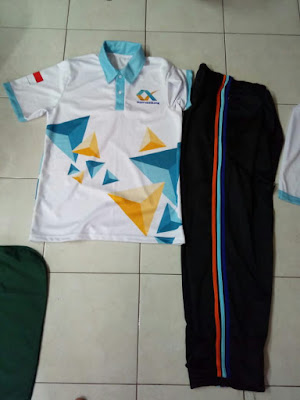 Pembuatan Jersey Badan Karantina Indonesia