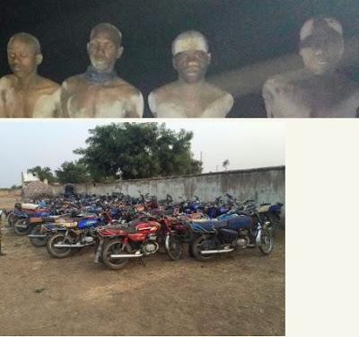 Soldiers Arrest Fleeing Boko Haram Terrorists With 100 Motorcycles