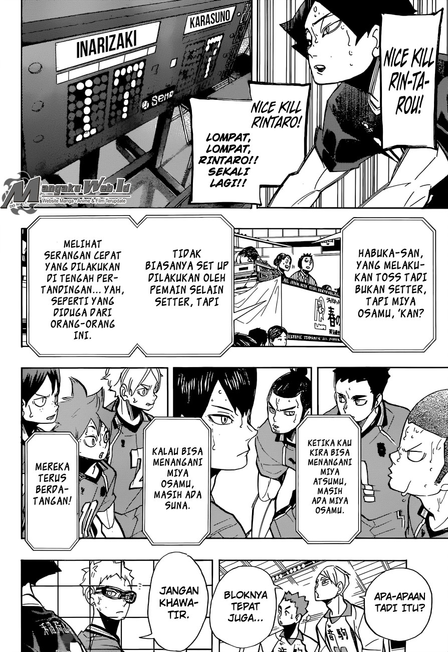 Haikyuu Chapter 270-19