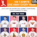 Get Free IPL 2016 T-shirt Free Giveaway Every Week 100 T-shirt