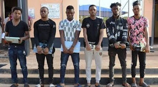 Exotic Cars Recovered As EFCC Arrests Seven Yahoo Boys In Ibadan ( Photos )