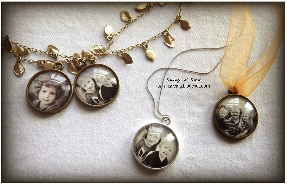 Sweet Treats by Sarah: DIY Photo Pendant for under $2.50!