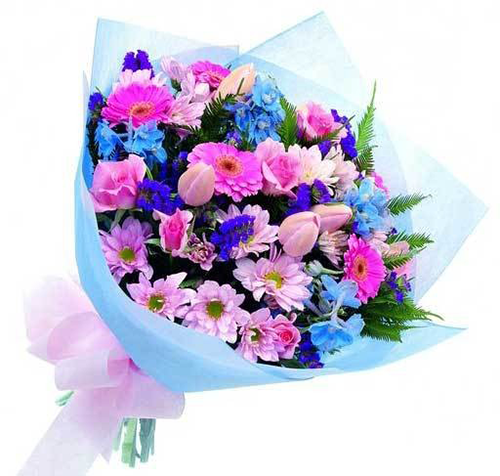 Flower bouquet emoticon