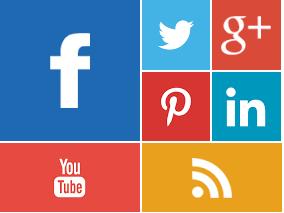 Κουμπια κοινωνικης δικτυωσης