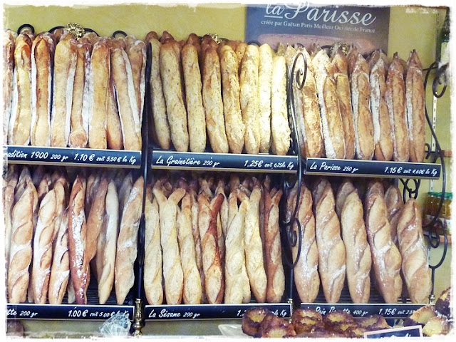 baguettes for sale in France
