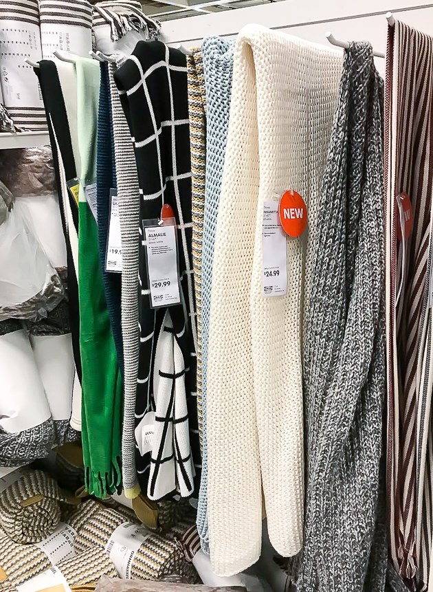throw blankets, ikea, ikea throw blankets, new ikea throws
