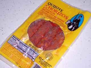 Quijote brand Chorizos