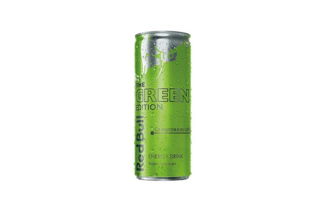 Новый Red Bull The Green Edition со вкусом «Киви и Яблока», Новый Зелёный Ред Булл со вкусом «Киви и Яблока», Новый Red Bull The Green Edition со вкусом «Киви и Яблока» состав цена стоимость пищевая ценность объём банка Россия 2018