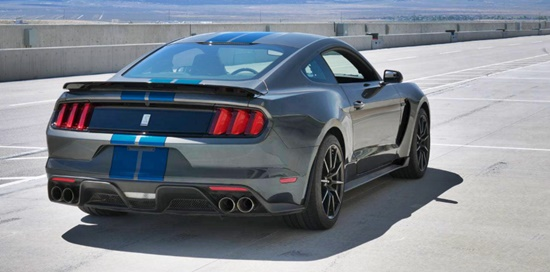 2018 Ford Mustang GT350r Rear View