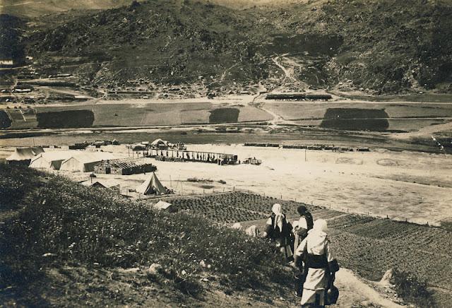 View toward village Skochivir during WW1