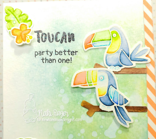 Newton's Nook Designs Toucan Party Set - Naki Rager