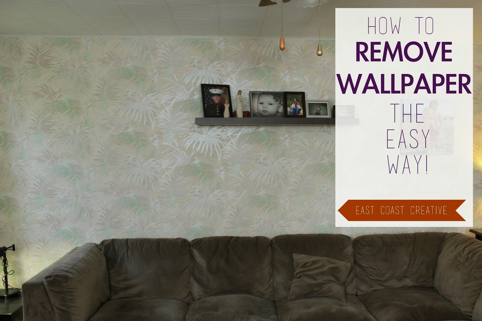 How to Remove Wallpaper the Easy Way!