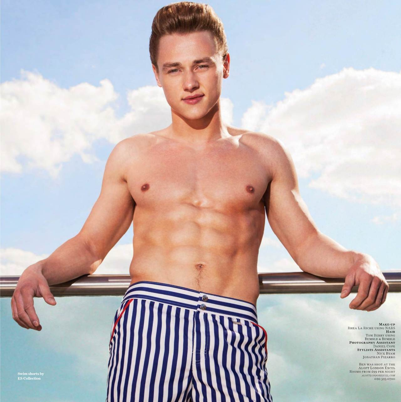 Ben Hardy Strips Off For Attitude  Oh Yes I Am-4589