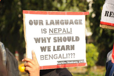 Our languiage is nepali why should we learn bengali