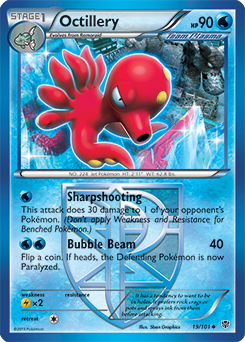 Octillery Mega Evolution