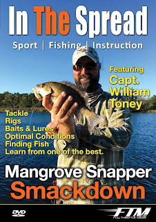In The Spread Mangrove Snapper Fishing DVD featuring Capt. William Toney