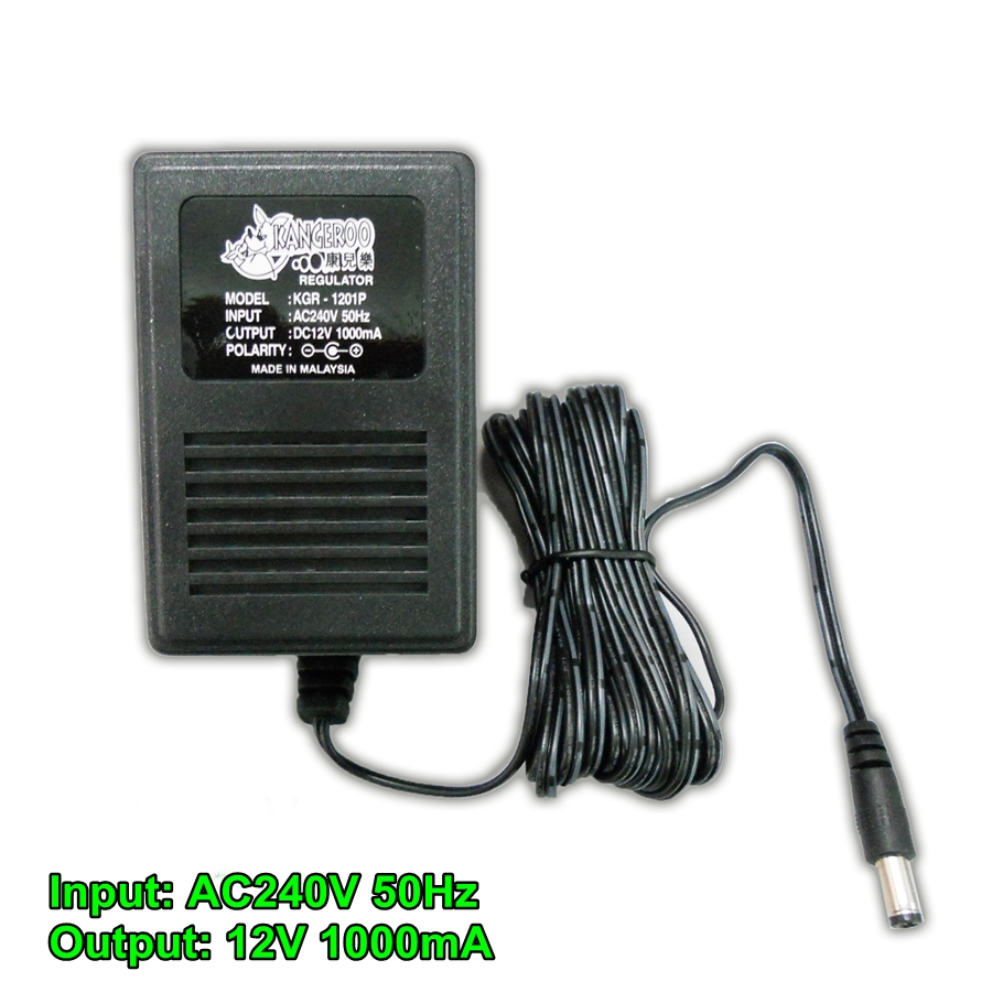 BongBongIdea: AC-DC ADAPTER FOR ELECTRIC CRADLE 12V 1A