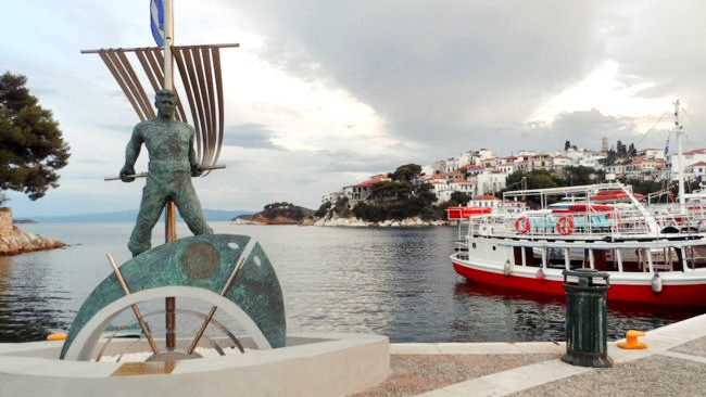 Skiathos town photos