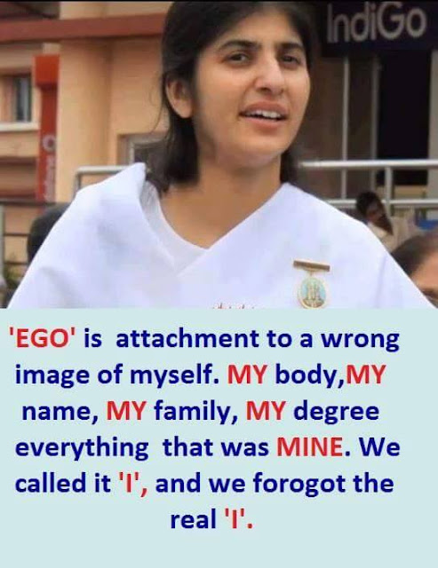 Quotes on Ego by Brahma Kumaris