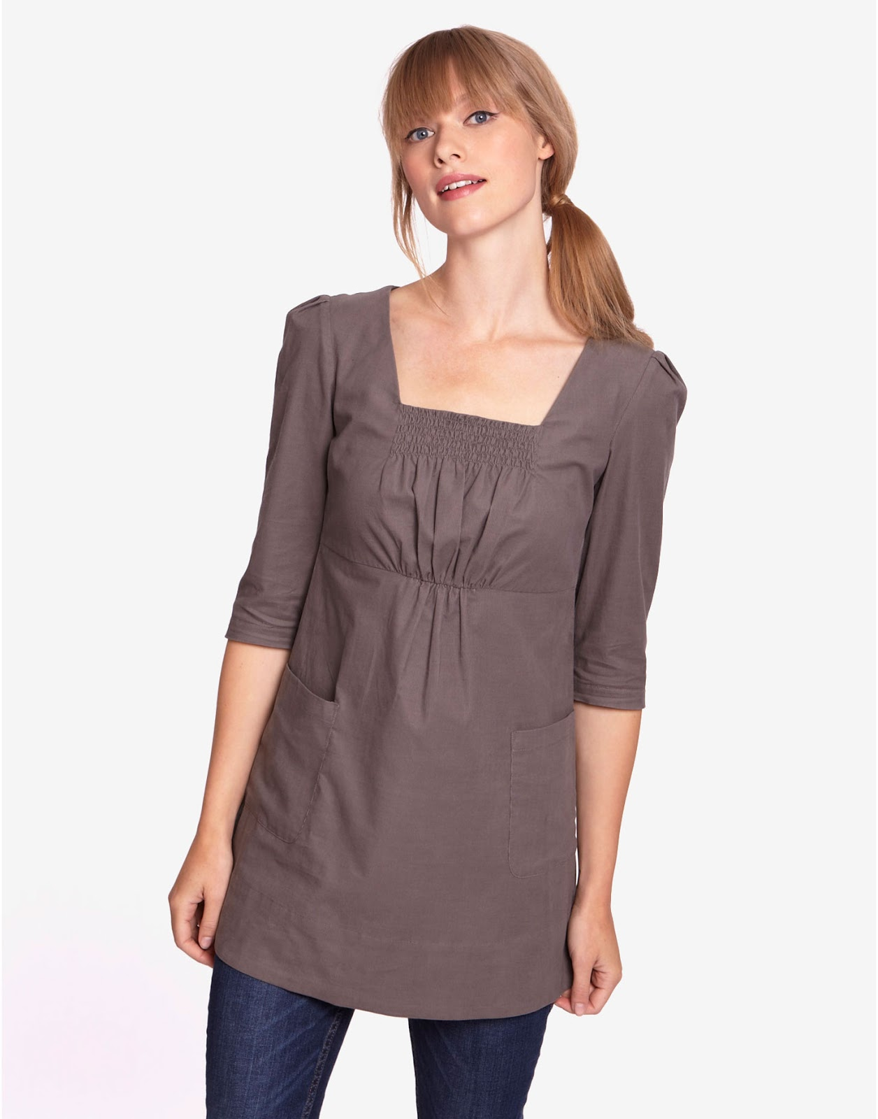 Womens Tunic Tops. Looking for an effortlessly chic wardrobe essential? Check out our terrific selection of women's tunic tops. Whether you're headed to the beach or a fun night out, these stylish standouts are sure to enhance any look.