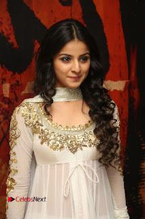 Telugu Actress Mahima Makwana Stills in White Desginer Dress at Venkatapuram Movie Logo Launch  0037.JPG